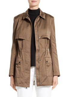 St. John Collection Satin Safari Jacket