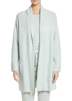 St. John Collection Sequin Cashmere & Silk Cardigan