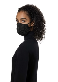 St. John Collection Sequin Tweed Adult Contoured Face Mask