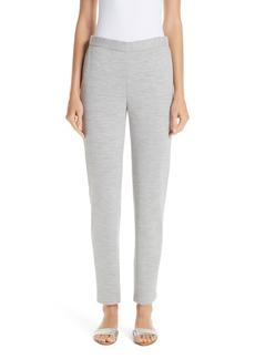 St. John Collection Skinny Milano Knit Crop Pants