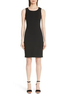 St. John Collection Sleeveless Milano Knit Dress
