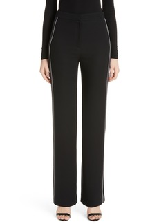 St. John Collection Solid Heavy Georgette Pants