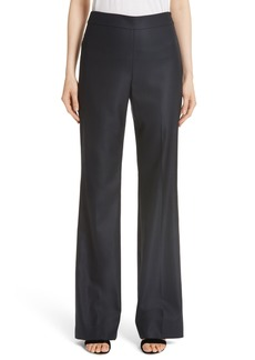 St. John Collection Stretch Bird's Eye Suiting Pants