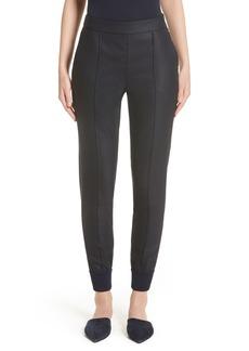 St. John Collection Stretch Birdseye Skinny Pants
