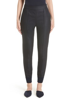 St. John Collection Stretch Birdseye Skinny Pants