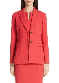 St. John Collection Stretch Double Weave Jacket