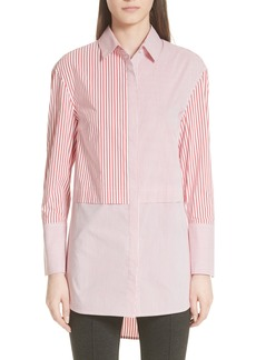 St. John Collection Striped Shirting Tunic