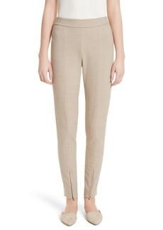 St. John Collection Summer Bella Double Weave Leggings