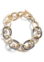 St. John Collection Swarovski Crystal & Metal Chain Bracelet