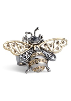 St. John Collection Swarovski Crystal Bee Ring
