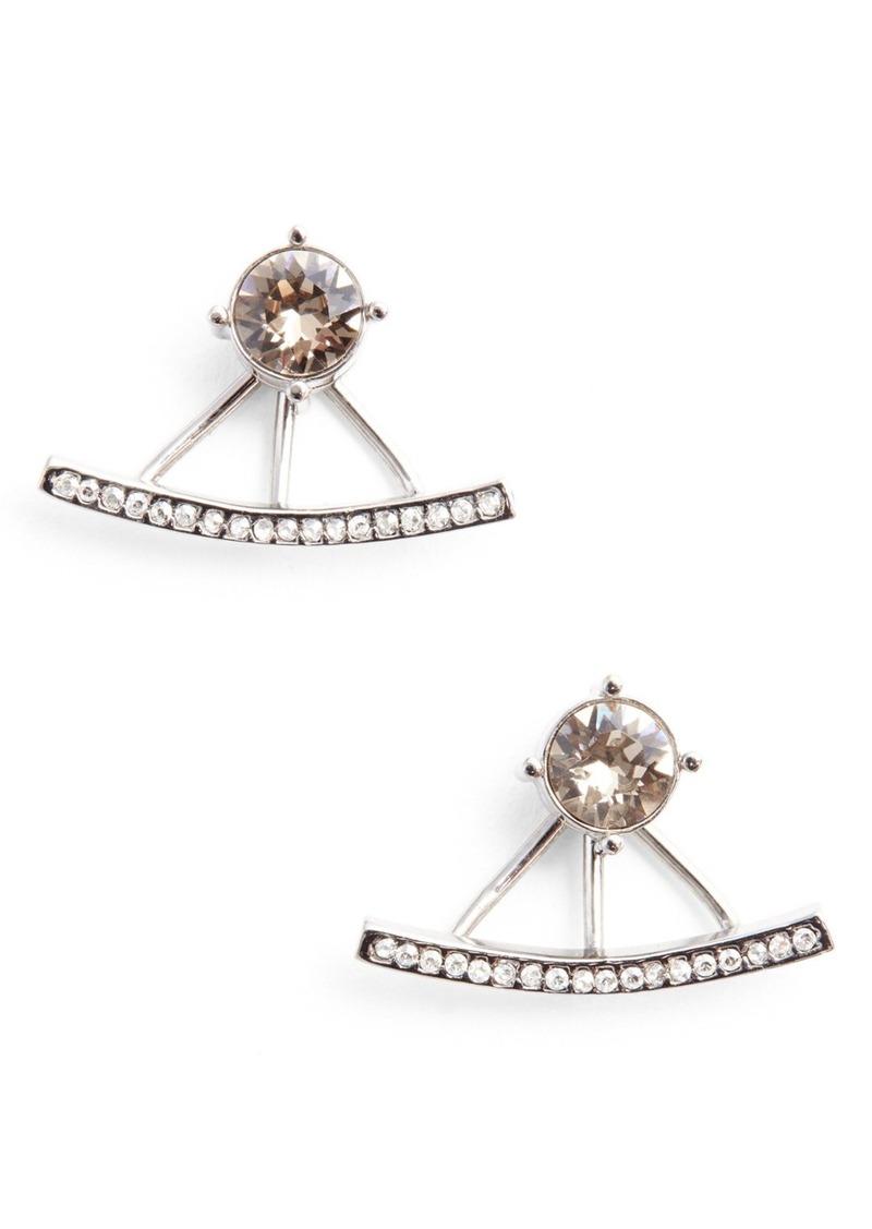 St. John Collection Swarovski Crystal Ear Jackets