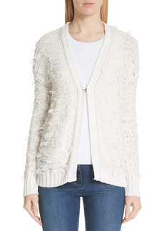 St. John Collection Tufted Knit Cardigan