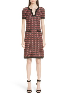 St. John Collection Tweed Knit Dress (Nordstrom Exclusive)
