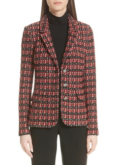 St. John Collection Tweed Knit Jacket (Nordstrom Exclusive)