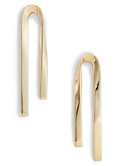 St. John Collection Twist Metal Earrings