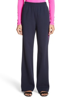 St. John Collection Wide Leg Ponte Track Pants