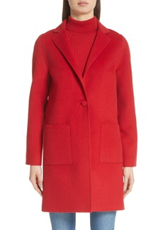 St. John Collection Wool Blend Double Face Coat