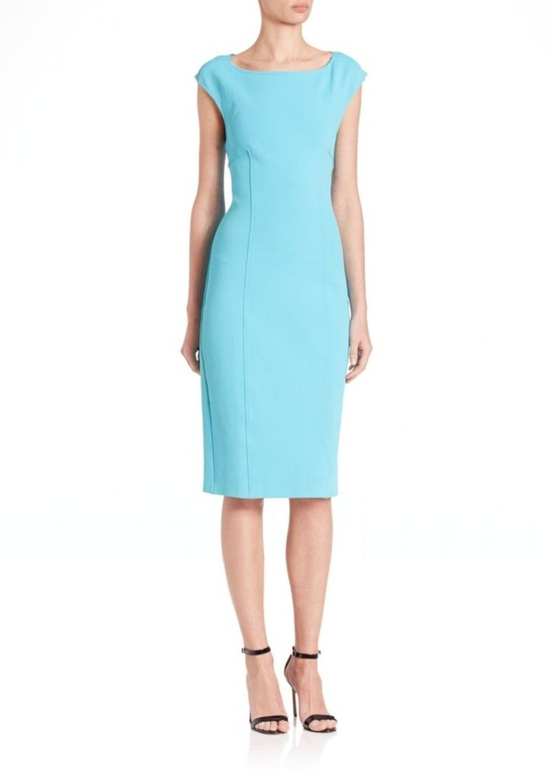 St. John Crossback Sheath Dress
