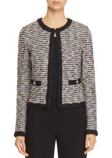 St. John Eyelash Tweed Knit Jacket