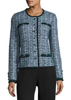 St. John Fazier Tweed Knit Jacket