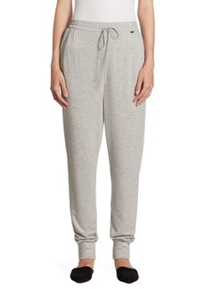 St. John French Terry Drawstring Pants