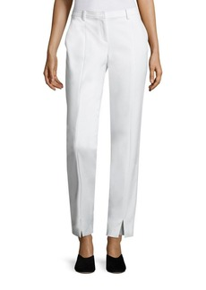 St. John Jennifer-Fit Stretch Micro Ottoman Ankle Pants