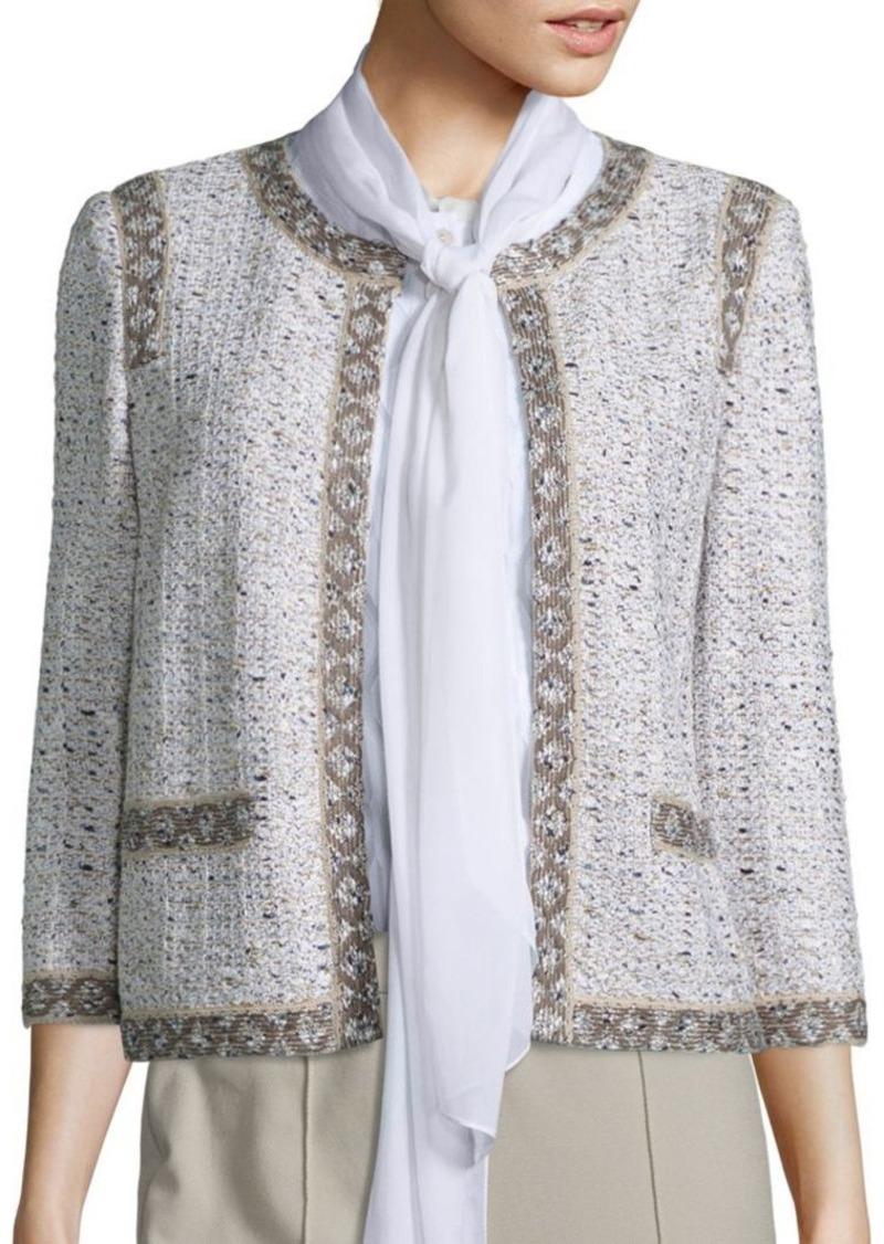 St. John Kira Tweed Jacket