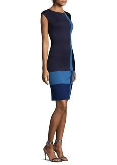 St. John Knit Colorblock Dress