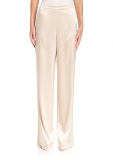 St. John Liquid Satin Pants