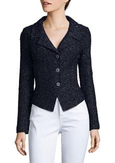 St. John Long-Sleeve Textured Jacket