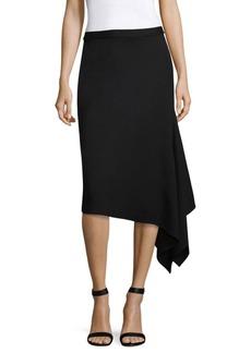 St. John Milano Asymmetrical Pencil Skirt