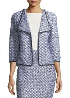St. John Nala Tweed-Knit Jacket