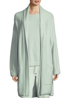 St. John Relax Fit Patch Pocket Cardigan