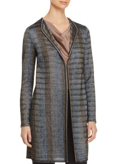 St. John Ribbon Knit Duster Jacket