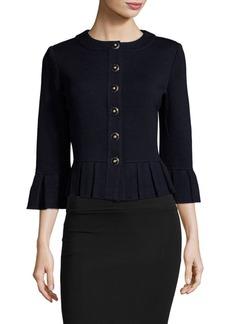 St. John Santana Wool-Blend Jacket
