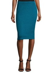 St. John Signature Santana Knit Pencil Skirt