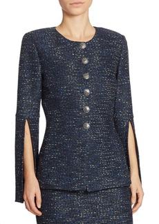 St. John Sparkle Tweed Jacket