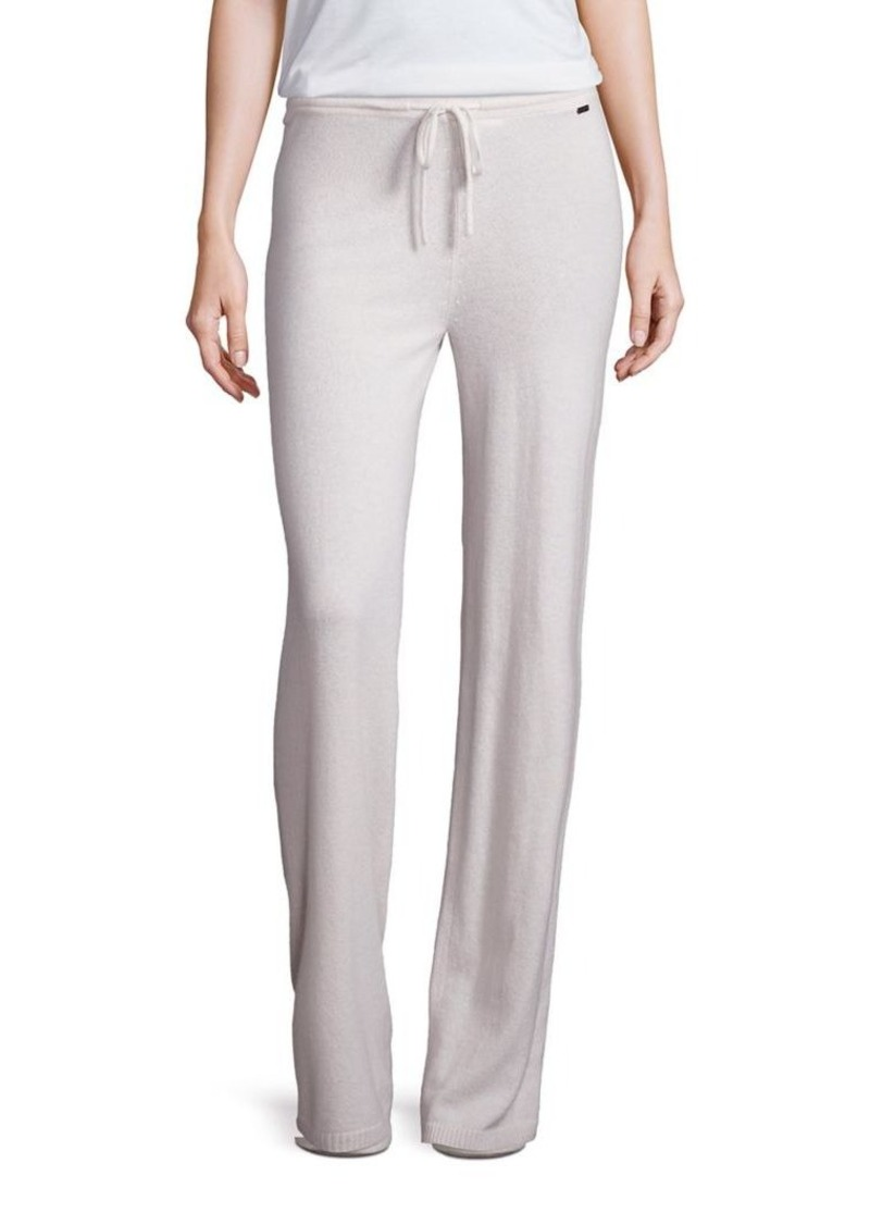 St. John Sport Collection Cashmere Drawstring Pants