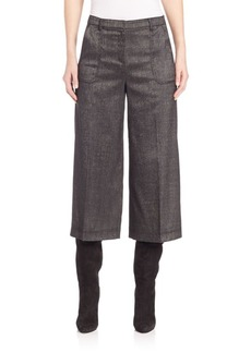 St. John Stretch Shimmer Culottes