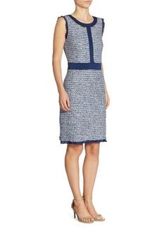 St. John Tweed A-Line Dress