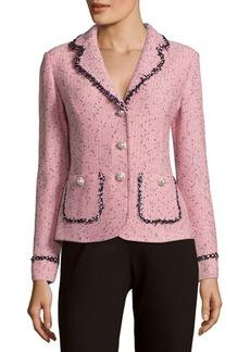 St. John Village Tweed Blazer Jacket