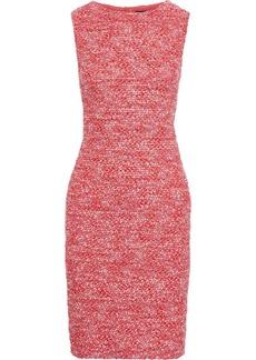 St. John Woman Bouclé Dress Coral