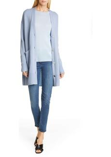 St. John Wool & Silk Jersey Sweater