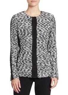 St. John Wool Tweed Jacket