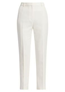 St. John Straight-Leg Tuxedo Pants