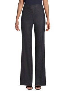 St. John Stretch Birdseye Suit Pants