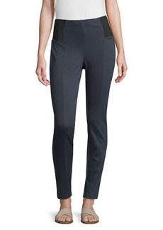 St. John Stretch Cotton Trouser Leggings