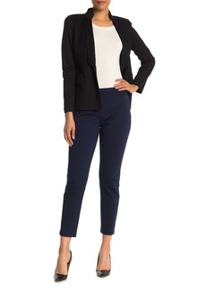 St. John Stretch Knit Ankle Slim Fit Trousers
