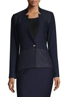 St. John Tailored Knit Blazer