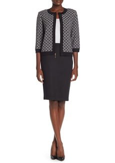St. John Tangeir Knit Pencil Skirt